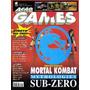 Revista Ação Games Nº118 - Ano 1997 - Capa Mortal Kombat