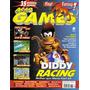 Revista Ação Games Nº121 - Ano 1997 - Capa Diddy Kong Racer