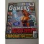 Gamers 74 Mortal Kombat Starcraft - Revista Games Antiga