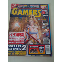 Revista Gamers 68 Ever Quest Wild Arms 2 Mgs Ghost Babel