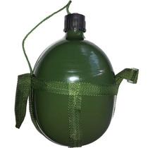 Cantil De Alumínio Militar Tático De 1.8 L C/ Tampa Vedada