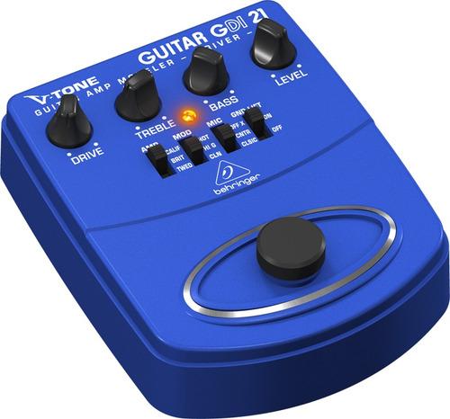 Gdi21 Pedal Behringer V-tone Gdi 21 Gdi-21 Para Guitarra