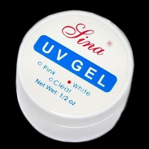 Gel Uv Acrygel Clear Pink White Gel Construtor De Unhas 15gr