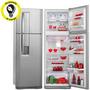 Refrigerador Electrolux Frost Free 380l Inox 220v - Dw42x