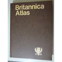Livro Britannica Atlas William A. Cleveland
