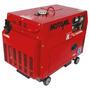 Gerador De Energia Diesel Silencioso Trif. 5kva Mdgt-5000ats