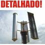 Projeto Gerador Eólico 1.000 Watts Detalhado - Frete Grátis