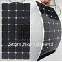 Painel Solar Flexível 100 W - 12v Camping Carro Barco Casa