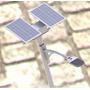Kit Painel Solar 12v 170w + Controlador + Luminaria 45w 12v