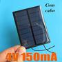 Célula Painel Placa Energia Solar Fotovoltaica 4v 150mah
