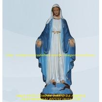 Escultura Nossa Senhora Graças Linda Imagem 60c Frete Gratis