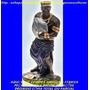 Escultura Orixa Africano Ogum Linda Imagem 23cm Fret Gratis