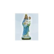 Nossa Senhora Do Rosário Imagem 20 Cm Gesso