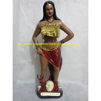 Escultura Pombagira Maria Padilha Das Almas 60cm Única No Ml