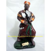 Escultura Pai Xango Linda Imagem 23cm Orixa Africano Oferta