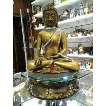 Buda Tibetano Em Gesso