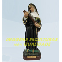 Escultura Santa Rita De Cassia Linda Imagem 20cm Promoção