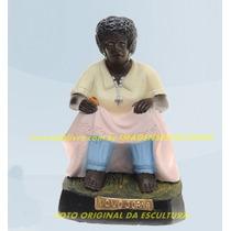 Escultura Preta Velha Vovó Joana Imagem 45cm Promoção No Ml