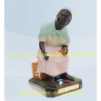 Escultura Preta Velha Mãe Conga Linda Imagem 20cm Promoção