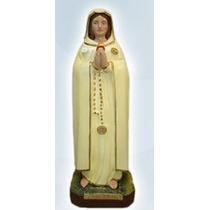 Nossa Senhora Da Rosa Mistica Imagem 45 Cm Gesso