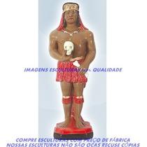 Escultura Exú Pimenta Linda Imagem 20cm Menor Preço Do Ml