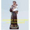 Escultura Santo Antonio Linda Imagem 40cm Promoção Fabrica
