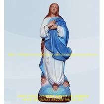 Escultura Nossa Senhora Conceição Linda Imagem 40cm Fabrica