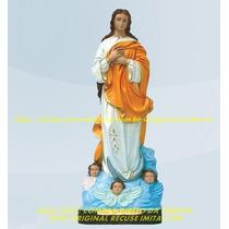 Escultura Nossa Senhora Conceição Linda Imagem 30cm Fabrica