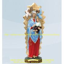 Escultura Nossa Senhora Perpetuo Socorro Linda Imagem 40cm