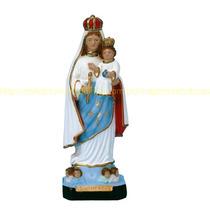 Escultura Nossa Senhora Livramento Linda Imagem 30cm Fabrica