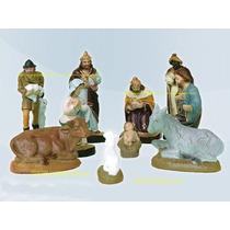Presépio Natal Tradicional 10 Peças Escultura De Até12cm