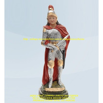 Escultura Ogum Beira Mar Imagem 25cm Promoção Ml Menor Preço