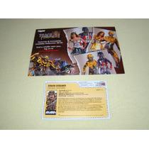 Gi Joe Convenção Joecon 2010 File Card E Folheto Raro