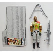 Gi Joe Roadblock Gi Joe 1986 100% Completo + Filecard