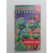 Vhs Filme Desenho Original Tartarugas Ninja