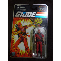 Comandos Em Ação - Gi Joe 25th Cobra Red Ninja - The Enemy