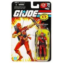 Red Ninja, The Enemy, Logo 25th, Coleção G.i. Joe 25 Th Anni