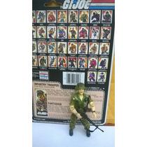 Gijoe Footloose - Hasbro Raro Com File Card