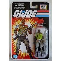 Gi Joe 25th Roadblock Heavy Machine Gunner Wave 8