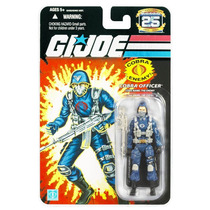 Gi Joe 25th - Cobra Officer - The Enemy