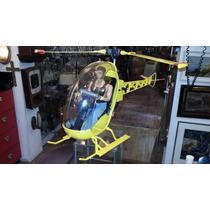 Falcon Aventura No Helicoptero De Coleção