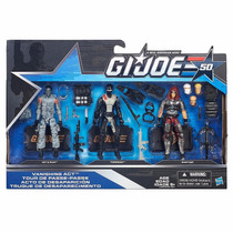 Gi Joe 50th Vanishing Act- Torpedo - Hit & Run - Brinquetoys