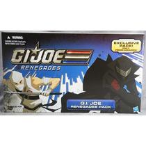 Gi Joe Renegades Pack- Snake Eyes Storm Shadow - Brinquetoys