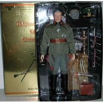 Boneco Militar Oficial Alemão Wwll Friedrich Paulus 30cm Alt