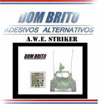 Adesivos Para Gi Joe Awe Striker (buggy Cross Americano)