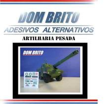 Adesivos Para O Artilharia Pesada Comandos Em Ação