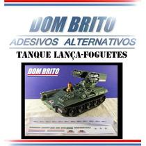 Adesivos Para O Tanque Lança Foguetes Comandos Em Ação