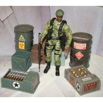 Caixa De Munição Padrão Gijoe E Comandos