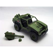 Comandos Em Ação Anos 80 - Jeep + Metralhadora + Capacete
