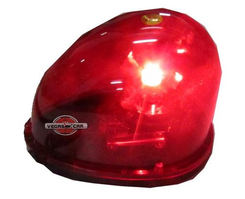 Giroflex, Luz De Emergência, Sinalização,vermelho C/ Imã 12v